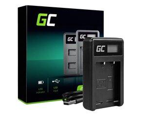 Green Cell Akumulatora lādētājs BC-W126 piemērots Fujifilm NP-W126, FinePix HS30EXR, HS33EXR, HS50EXR, X-A1, X-A3, X-E1