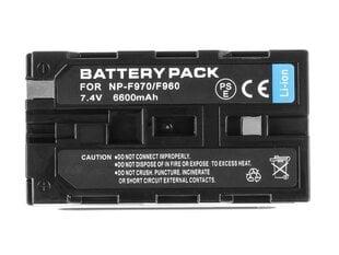Green Cell® piemērots Sony NP-F330 NP-F530 цена и информация | Аккумуляторы для фотокамер | 220.lv