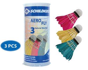 Badmintona volāni Schildkrot Aero Fly, 3 gab.