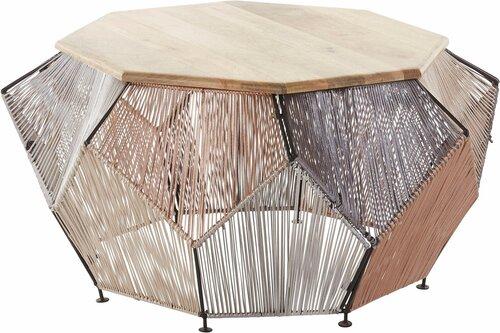 Kafijas galdiņš Reno, ozola krāsas