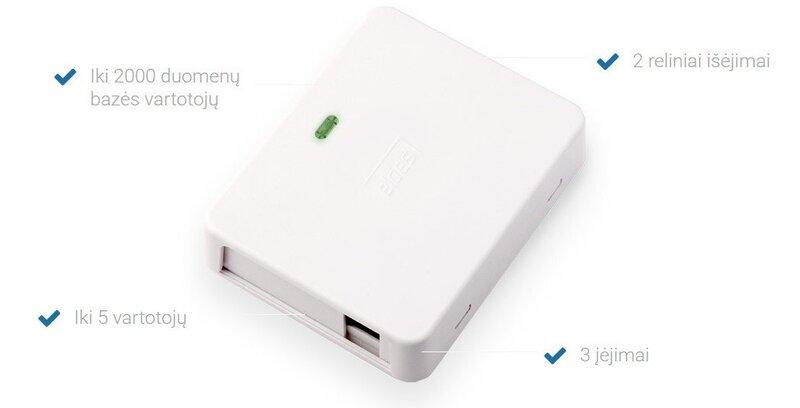 ELDES ESIM320 2G un 3G tālvadības vārtu kontrolieris
