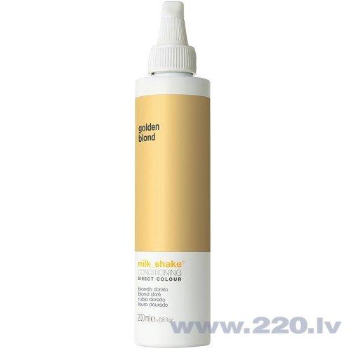Izsmidzināma matu krāsa Milk Shake Direct Color 200 ml, Golden Blonde