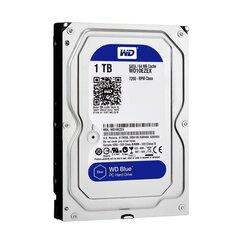 Western Digital CAVIAR Blue 1TB SATA 7200RPM 64MB WD10EZEX cena un informācija | Cietie diski (HDD, SSD, Hybrid) | 220.lv