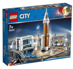 60228 LEGO® City Space Port Дальнего космоса ракета  и  центр запуска