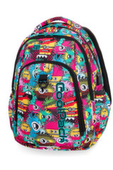 Рюкзак CoolPack Strike USB Wiggly Eyes Pink B18047