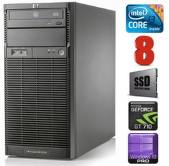 HP ProLiant ML110 G6 i3-550 8GB 120SSD GT710 2GB DVD WIN10Pro