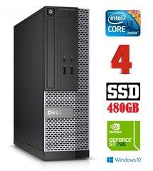 Dell 3020 SFF i3-4130 4GB 480SSD GT730 2GB DVDRW WIN10Pro cena un informācija | Dell 3020 SFF i3-4130 4GB 480SSD GT730 2GB DVDRW WIN10Pro | 220.lv