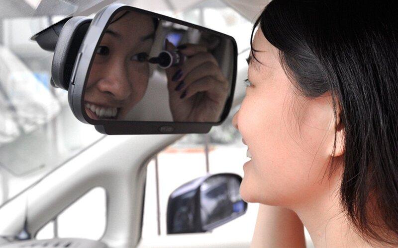 PMC-310 Parkošanās sistēma spogulī ar Bluetooth, kamera