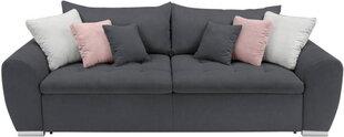 Dīvāns BRW Gaspar IV Mega Lux 3DL, tumši pelēks