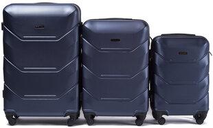3 koferu komplekts Wings 147-3, tumši zils