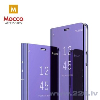 Mocco Clear View piemērots Samsung Galaxy A70, Violets
