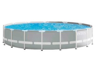 Karkasa baseins Intex Prism Frame 610x132 cm, ar 12V filtru