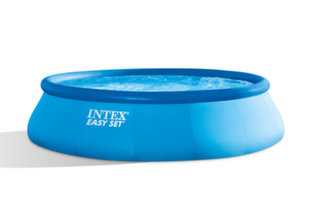 Baseins Intex Easy Set 457x107 cm, ar 12V filtru