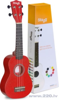 Soprāna ukulele Stagg US-RED