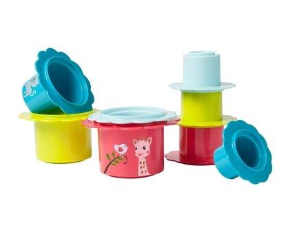 Rotaļlieta VULLI, Sophie la girafe Fleurs Gigognes, 010256
