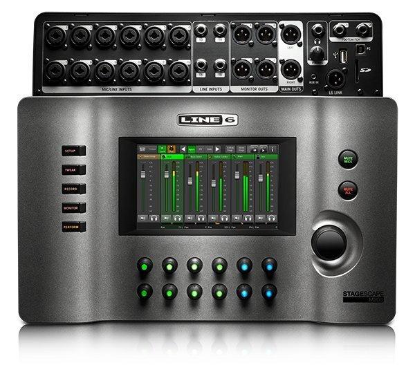 Digitālās skaņas pults Line6 Stagescape M20d