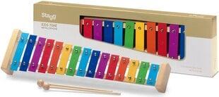 Metalofons Stagg META-K15 RB cena un informācija | Perkusijas | 220.lv