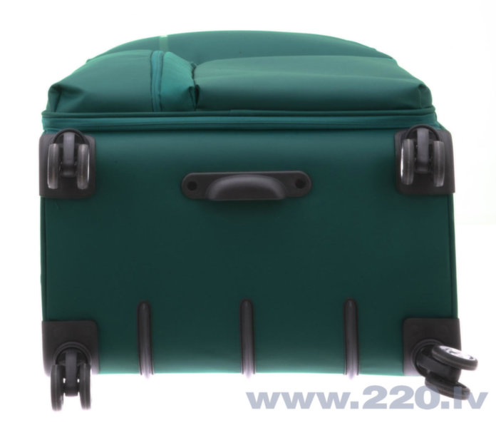 Liels koferis Davidts Aquarius 70 cm, zaļš