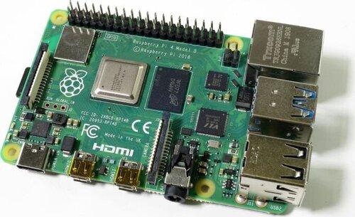 Raspberry Pi 4 modelis B WiFi DualBand Bluetooth 2GB RAM 1,5GHz