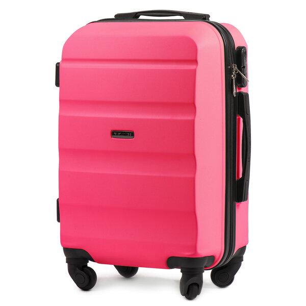 Maza izmēra koferis Wings S AT01, rozā