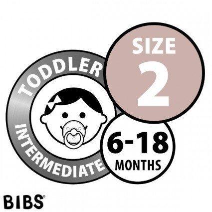 Knupītis BIBS Turquoise / Ivory 6-18 mēn.