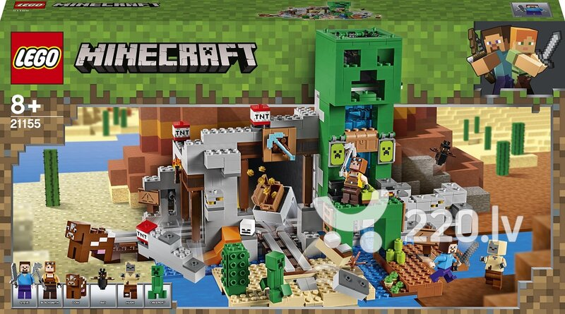 21155 LEGO® Minecraft™ Creeper™ raktuves