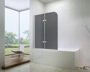 Vannas siena Mexen Felix II 70, 100 cm, grey cena un informācija | Vannas siena Mexen Felix II 70, 100 cm, grey | 220.lv