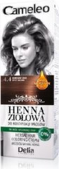 Matu krāsa Delia Cosmetics Cameleo Henna Herbal 75 g, 4.4 Spicy Brown