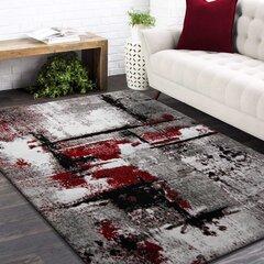 Paklājs pelēks / sarkans 80x150cm