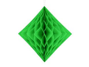 Pakaramā dekorācija Diamond 20 cm, Salātzaļa, ( 1 iepak./1gab.)