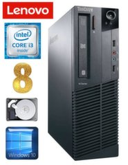 Lenovo ThinkCentre M82 SFF i3-2120 8GB 250GB WIN10