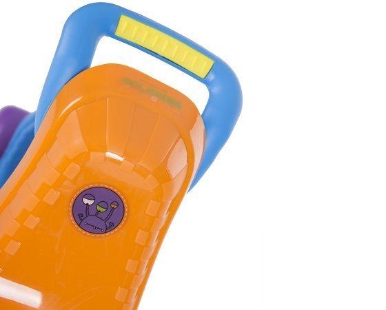 Skrejritenis - stumjama mašīna Ride-On 3 in 1, zila / oranža