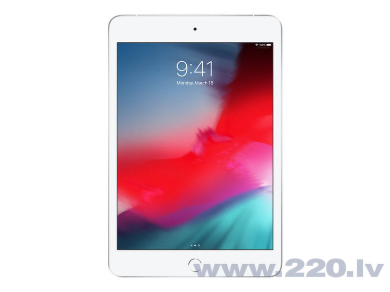 "Apple iPad mini 7.9"" Wi-Fi+4G 64GB, Sudrabains, 5th gen, MUX62HC/A"