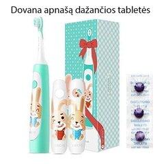 Xiaomi Soocas Kids Sonic Electric, Zaļš cena un informācija | Elektriskās zobu birstes | 220.lv