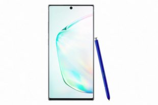 Samsung Galaxy Note 10 Plus, 512 GB, Dual SIM, Zils (Aura Glow)