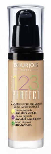 Krēmpūderis Bourjois 1.2.3. Perfect 30 ml