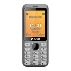 eSTAR Feature Phone X28 Silver Dual SIM
