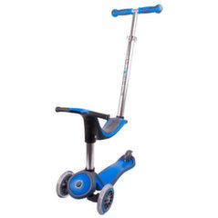 Bērnu skūteris - velosipēds inSPORTline 4in1 Globber, zils