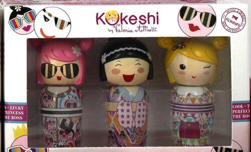 Smaržu komplekts bērniem Kokeshi 3 x 5 ml