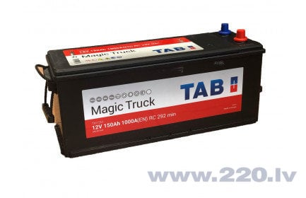 TAB Magic Truck 150Ah 1000A akumulators