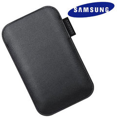 Kabatiņa Samsung EF-C968L piemērota Samsung Galaxy S, melna cena un informācija | Maciņi, somiņas | 220.lv