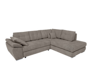 Stūra dīvāns BRW Carl II Lux, gaiši brūns cena un informācija | Stūra dīvāni | 220.lv