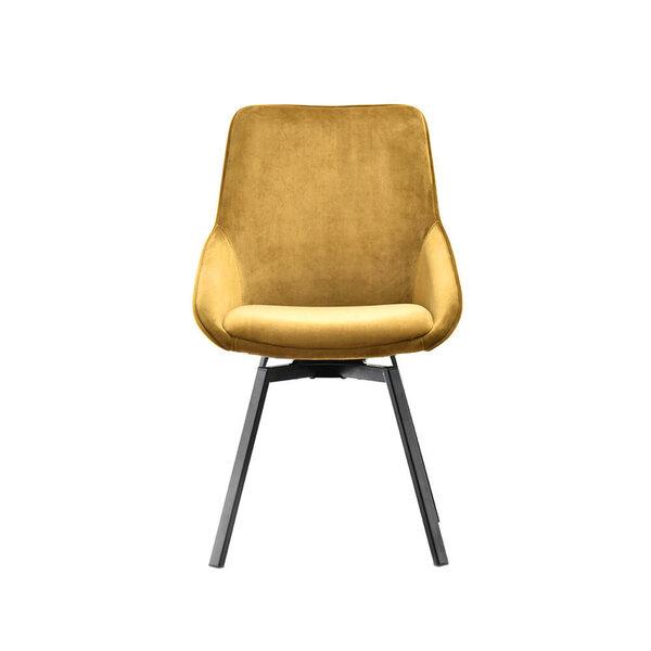 Krēsls Sunrise, dzeltens/melns