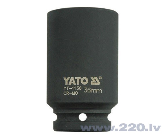 """Trieciena muciņa sešstūraina Yato 3/4"""" 36mm (YT-1136)"""