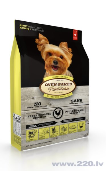 Oven Baked Tradition Adult Small Breed Chicken s.m. suniem 2,27kg