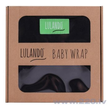 Bērnu slings LULANDO, black, 4,6x0,5 m