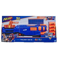 Šautene Nerf Elite Trilogy DS 15 cena un informācija | Rotaļlietas zēniem | 220.lv