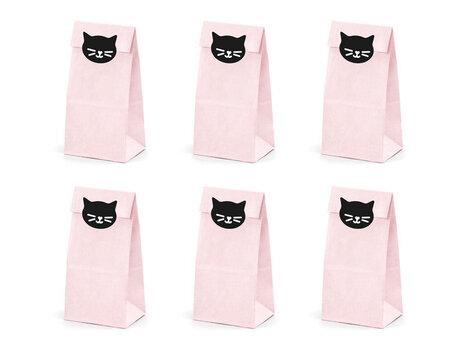 Uzkodu maisiņi Cat 8x18x6 cm (1 iepak./ 6 gab.)