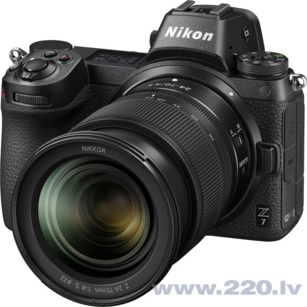 Nikon Z7 + 24-70mm f4 Kit atsauksme