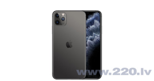 Apple iPhone 11 Pro Max, 512GB, Pelēks (Space Gray)